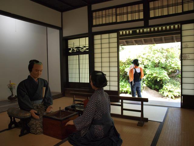 篠塚邸内部