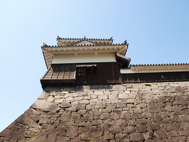 宇土櫓の入口