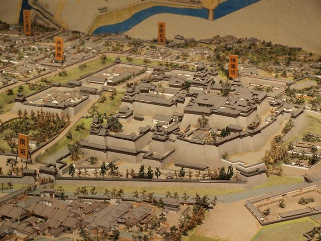熊本城模型