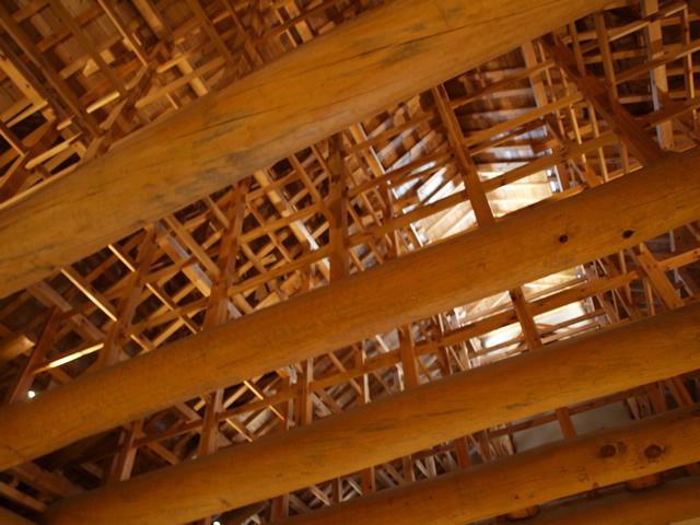木造建築の本丸御殿