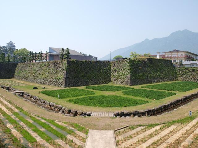 島原城のお堀