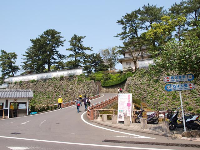 島原城入口