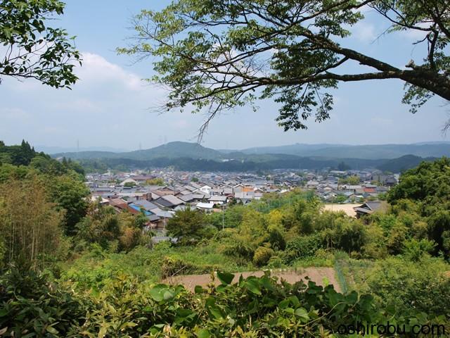 岩村の景色