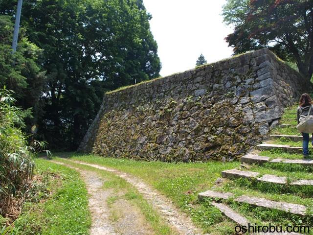 二重櫓の建っていた石垣