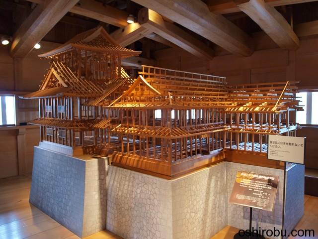 菱櫓の模型
