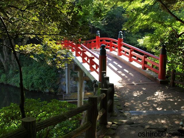 渡った朝陽橋