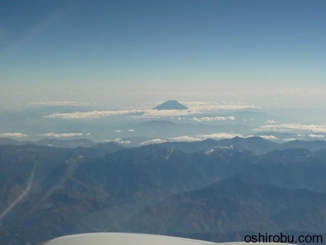 富士山も見える天気