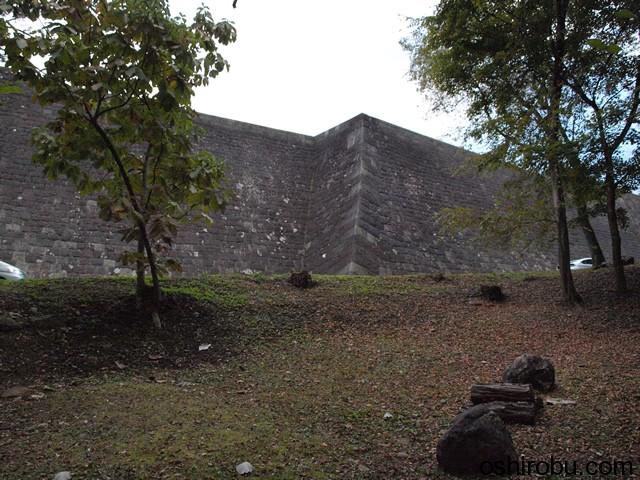 立派な高石垣