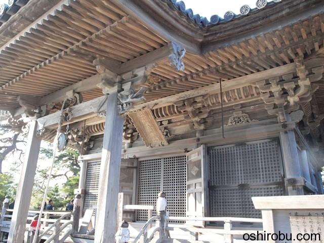 桃山式建築手法の五大堂
