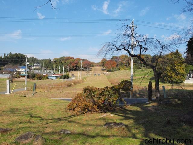 多賀城碑から政庁方面