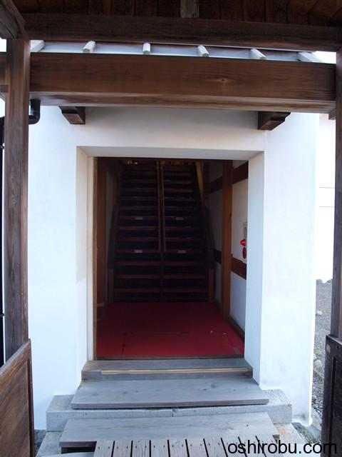 巽櫓の入口