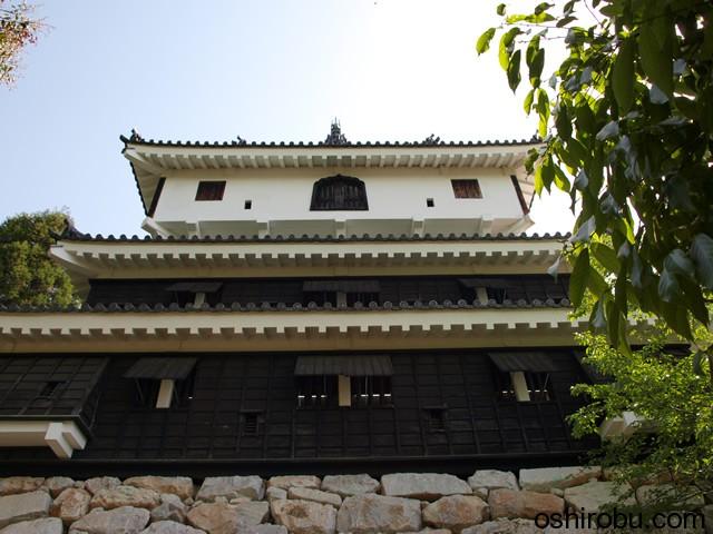 岩国城天守閣(南西側)