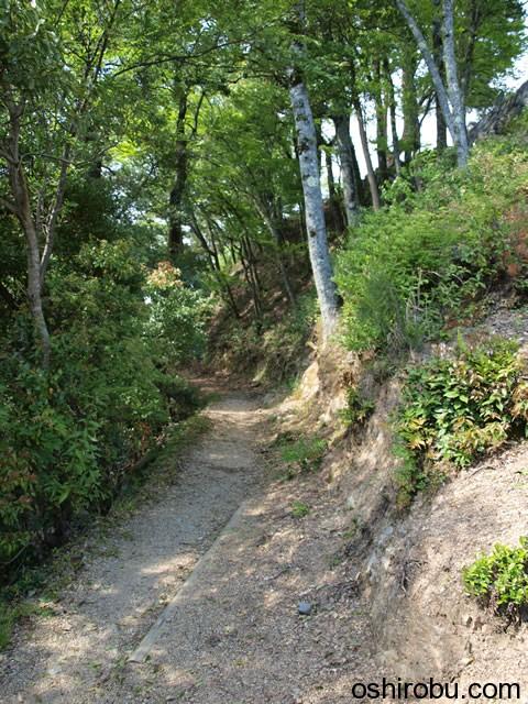 出丸から本城への道