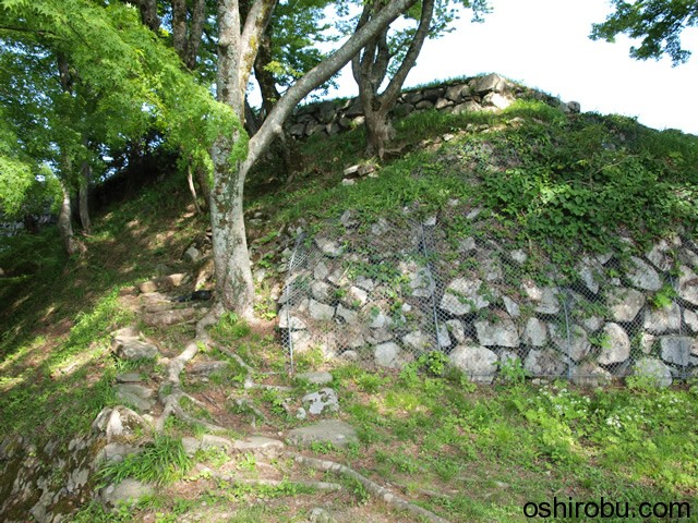 三十間台の石垣