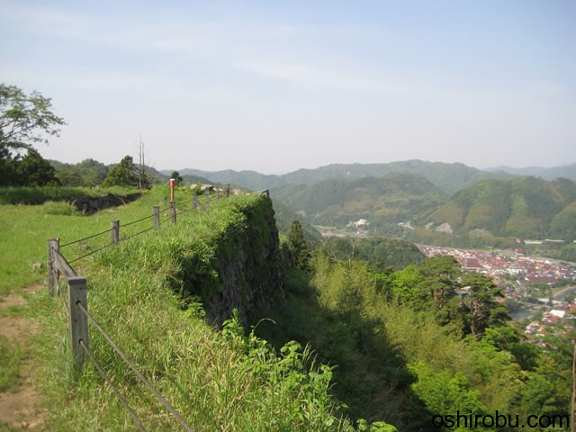 最高所からの津和野