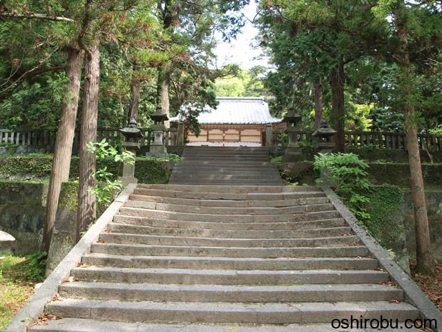 志都岐山神社への石段