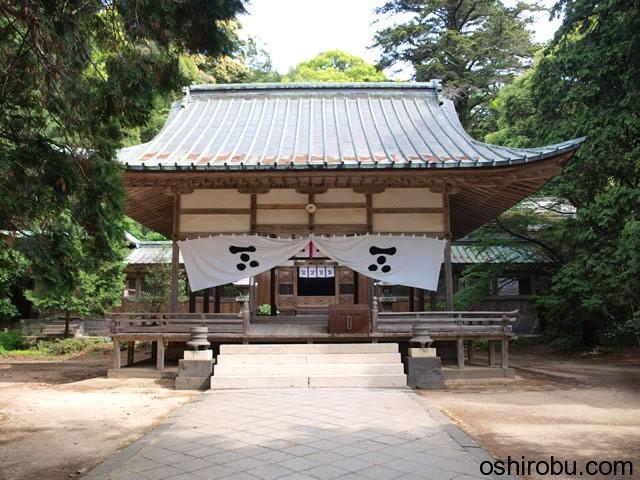 志都岐山神社 拝殿