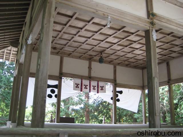 拝殿の天井