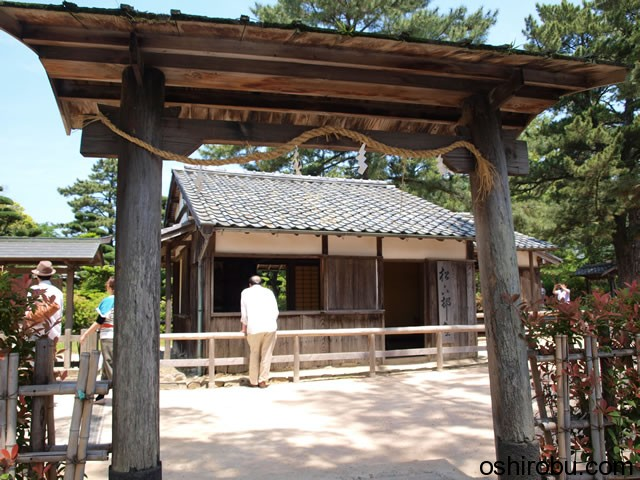 松下村塾の門