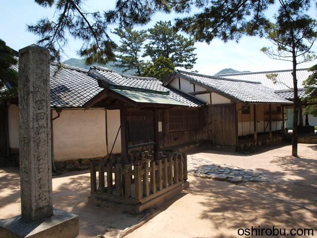 松下村塾となりの建物
