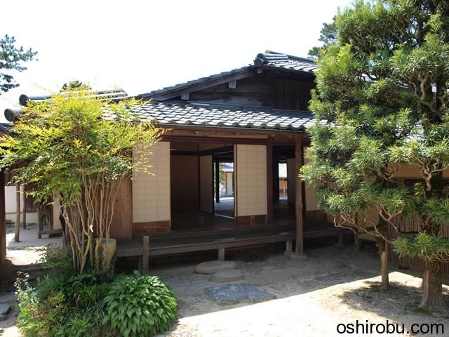 吉田松陰幽因の旧宅