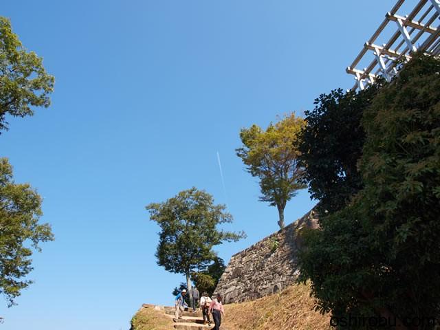 頂上へのルート