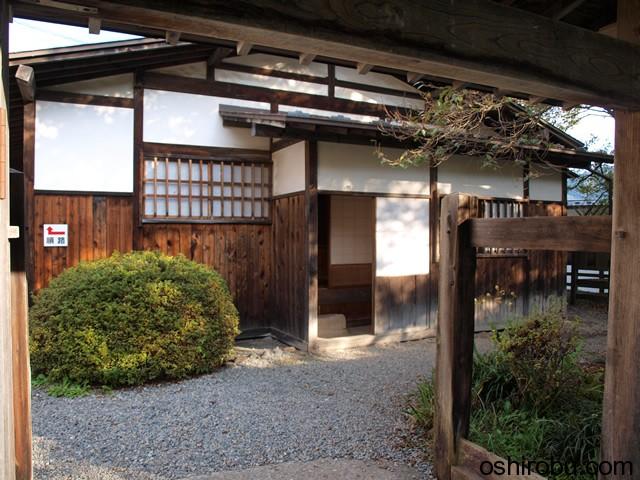復元された屋敷