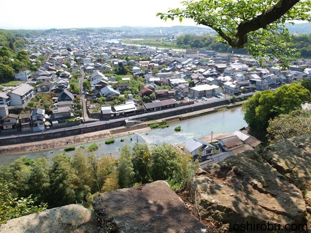 吉井川に流れ込む川