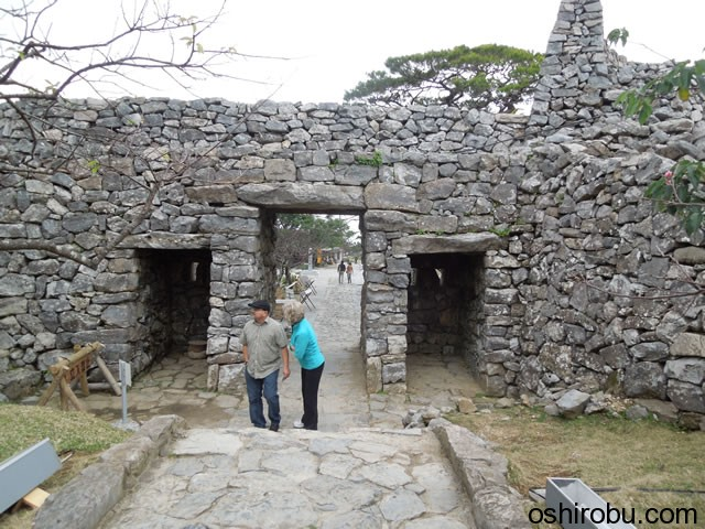 平郎門の裏側