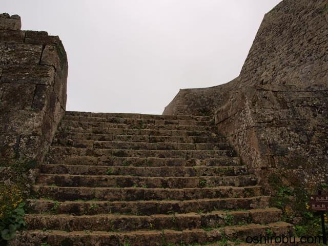 三の郭への階段