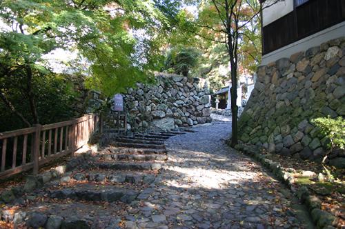 犬山城 黒門跡