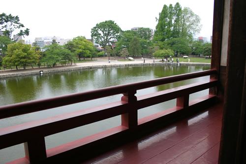 松本城 月見櫓より