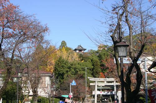 犬山城 遠景