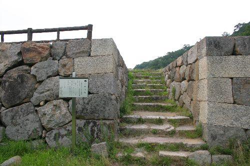 鳥取城 三階櫓跡