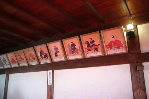犬山城 4階