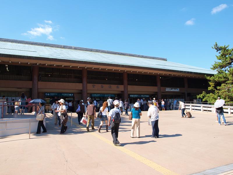 お城部ログ ~日本のお城を攻めるお城部のブログ~-宮島