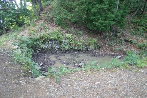 小谷城 馬洗池