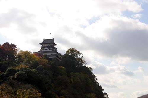 犬山城 川側からの遠景
