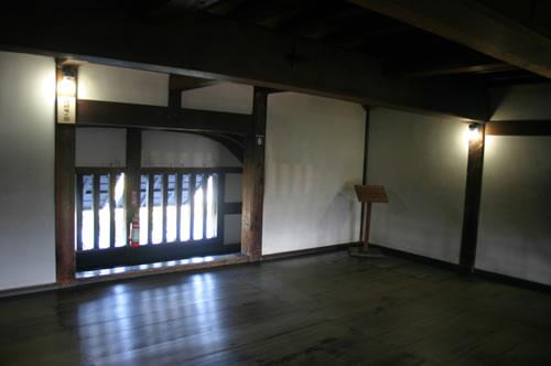 犬山城 3階