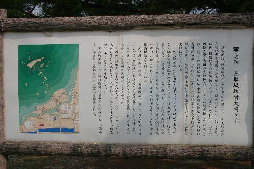 鳥取城 案内図