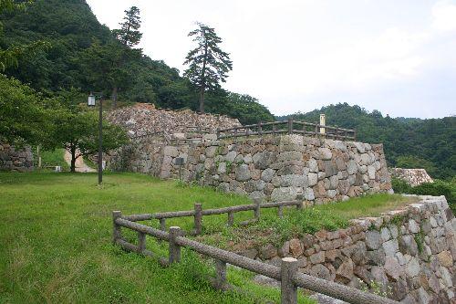 鳥取城 鉄御門跡