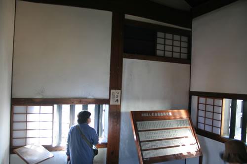 犬山城 付櫓内部