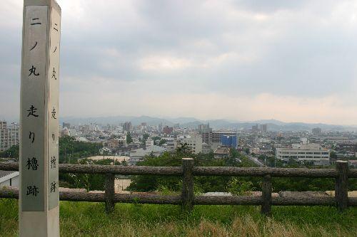 鳥取城 二ノ丸走り櫓跡