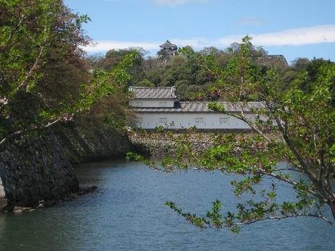 彦根城とお堀